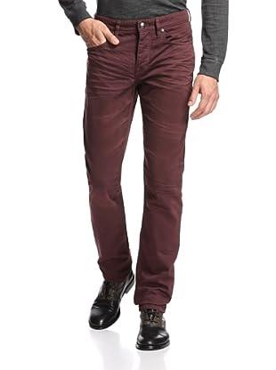 Stitch's Men's Barfly Slim Straight Leg Jean (Malbec)