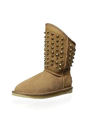 AUStralia Luxe Collective Womens Pistol Short Sheepskin Boot (Chestnut)