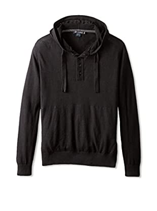 French Connection Men's Portrait Plain Hoodie Sweater