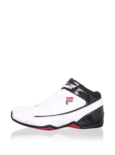 Fila Kid's Change The Game Basketball Sneaker (Little Kid/Big Kid) (White/Black/Chinese Red)