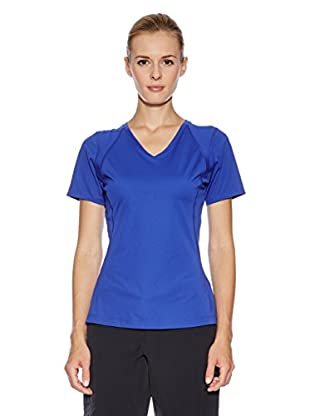 Mountain Hardwear Camiseta Técnica Dryhiker Tephra S/S (Azul)