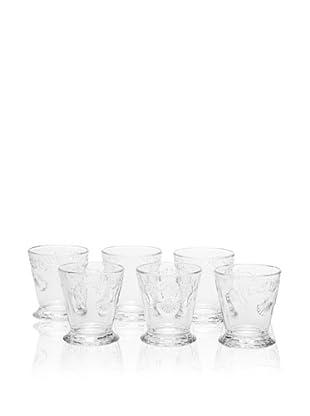 La Rochère Set of 6 Versailles Goblets