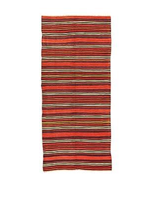Design Community By Loomier Teppich Kilim Caucasico rot/mehrfarbig 148 x 320 cm