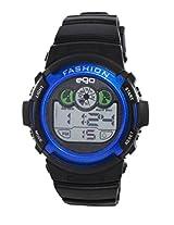 Ego by Maxima Digital Black Dial Men's Watch - E-37172PPDN