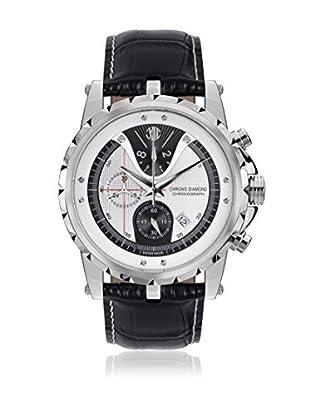 Chrono Diamond Uhr mit schweizer Quarzuhrwerk Man 10700 Furia schwarz