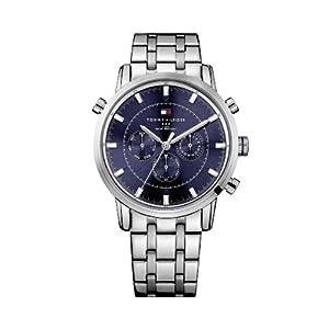 Tommy Hilfiger Chronograph Blue Dial Men's Watch - TH1790876/D