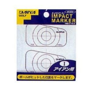【クリックで詳細表示】Amazon.co.jp | ダイヤ(DAIYA) インパクトマーカー アイアン用 AS-423 | スポーツ&アウトドア 通販