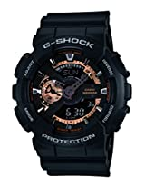 Casio G-Shock Special Edition Analog-Digital Black Dial Men's Watch - GA-110RG-1ADR (G397)