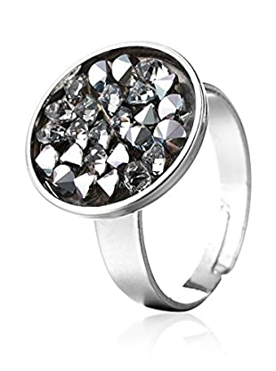 SWAROVSKI ELEMENTS Anillo Round Transparente