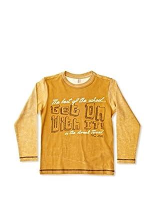 New Caro Camiseta Manga Larga Remix Niño (Amarillo)