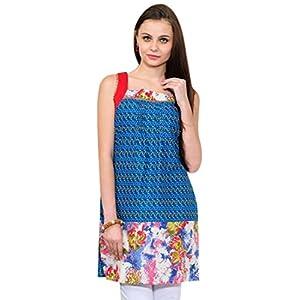 Yepme Anya Printed Kurti - Blue