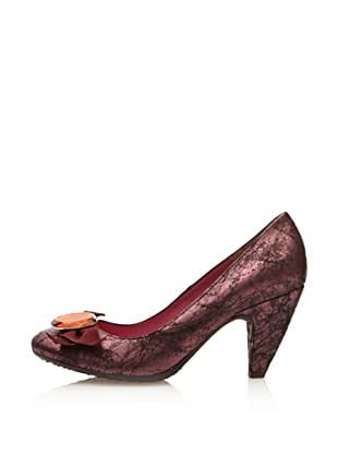Fornarina Pumps Currant Metallic Suede Wo (Violett)