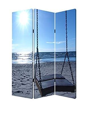 Screen Gems Seaside Serenity Screen, Multi