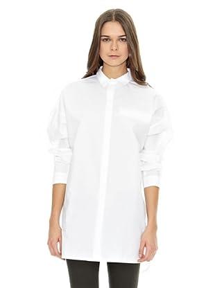 Mango Bluse Lim (Weiß)
