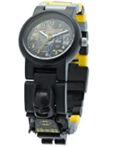 LEGO Kids' 9005640 DC Universe Super Heroes Batman Plastic Minifigure Link Watch