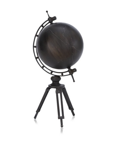 Industrial Chic Metal Globe