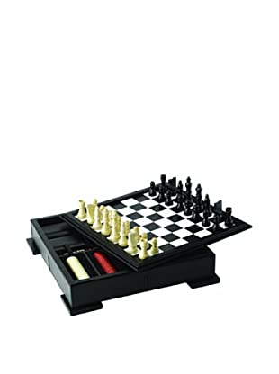Wolf Designs Chess/Backgammon Set