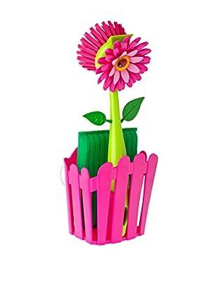 VIGAR Kit de Limpieza 3 Piezas Flower Power Fucsia