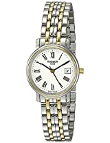 Tissot Analog White Dial Women's Watch - T52228113