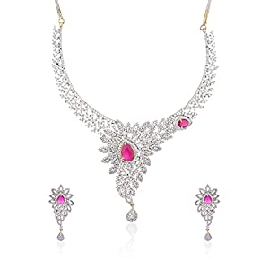 Alysa  copper Necklace Set For Women  NS184501