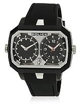 13076Jpb/02A Black/Black Analog Watch Police