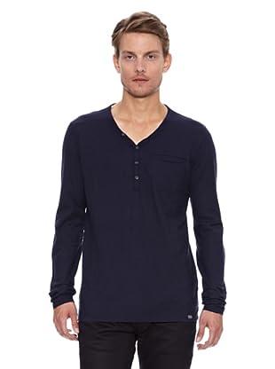 Salsa Camiseta Boston Slim Bolso (Azul Oscuro)