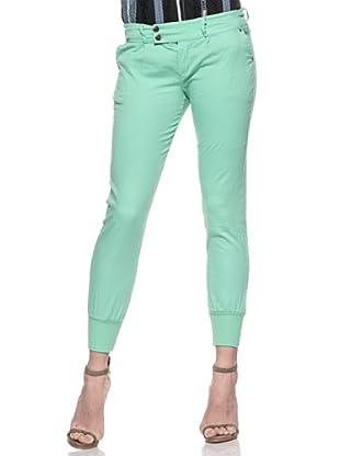Crema Pantalón Pesquero Básico (Verde)