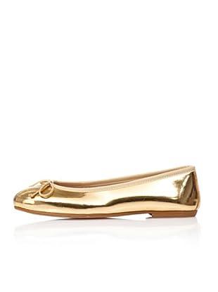 Bisue Bailarinas Brillo (Oro)