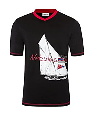 Nebulus Camiseta Manga Corta Ahoi Negro XL