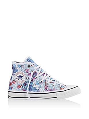 Converse Zapatillas abotinadas All Star Hi Tiny Crochet Print