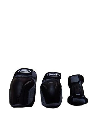 Roces Pack de 3 Standard (Gris / Negro)