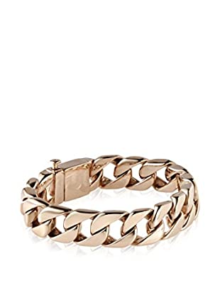 Stephen Oliver Men's 18K Rose Gold-Plated Cuban Bracelet