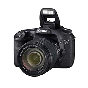 Canon EOS 7D (with Kit I EF-S 15-85 IS) DSLR Camera with 18MP and 3 inch Screen (Black)