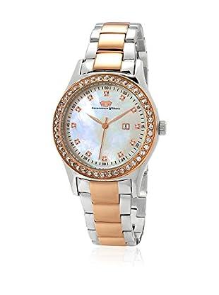 Rhodenwald & Söhne Uhr mit Japanischem Quarzuhrwerk 10010041 goldfarben/silberfarben 38  mm