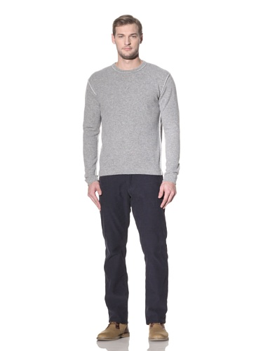 Benson Men's Crewneck Sweater (Heather Grey)