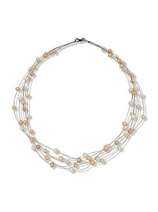 Valero Pearls 400341 - Collar de mujer de plata con perla cultivada de agua dulce, 50 cm