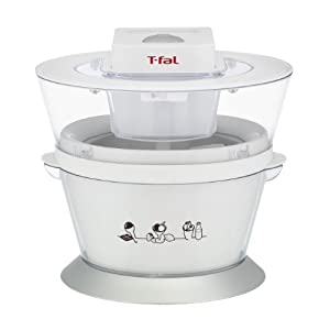 T-fal IG4000 Ice-Cream Maker, 1-Quart, White