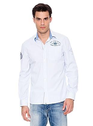 Pepe Jeans London Camisa Elbert (Celeste)