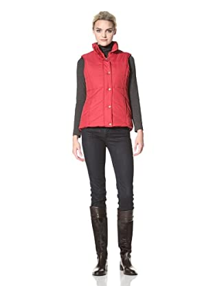 Tommy Hilfiger Women's Down Vest (Red)