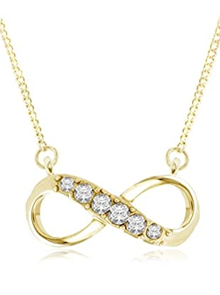 Diamond Style Set Kette und Anhänger Infinity