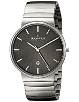 Skagen Ancher Analog Grey Dial Men's Watch - SKW6109