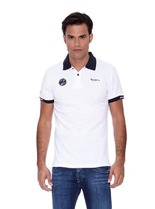 Pepe Jeans London Polo Racecar (Blanco)
