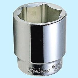 【クリックで詳細表示】コーケン 3/4(19mm)SQ. 6角ソケット 80mm 6400M-80: DIY・工具