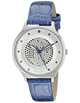Johan Eric Women's JE1600-04-001.11 Orstead Analog Display Japanese Quartz Blue Watch