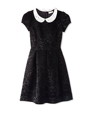Monnalisa Chic Kid's Stretch Brocade Dress