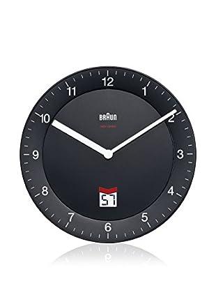 Braun Reloj de pared BNC006BK-RC Negro