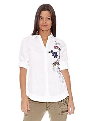 Desigual Camisa Yesterday (Blanco)
