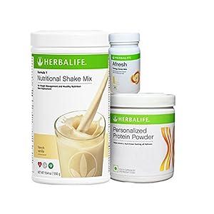 Herbalife F 1 Vanilla F 3 Protein Powder And Afresh Lemon - 500 g