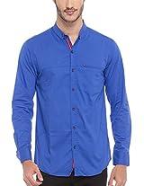 SPYKAR Men Cotton R.Blue Casual Shirt (Medium)