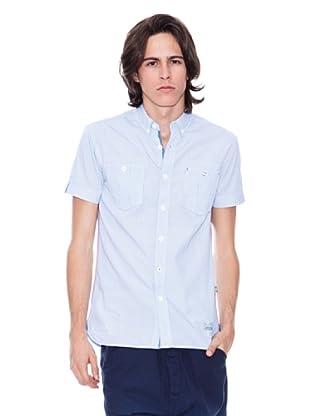 Gio Goi Camisa Symondo (blanco / azul)
